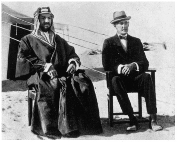 ibn saud and percy cox